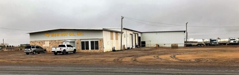 M&W Hot Oil Office, Shop, & Truck Yard Pecos, Texas