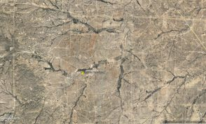 5 ac Culberson County Aerial Image Approx. Location zoomed out