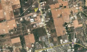 Crawford 9 Acres Big Spring Aerial Image zoomed out